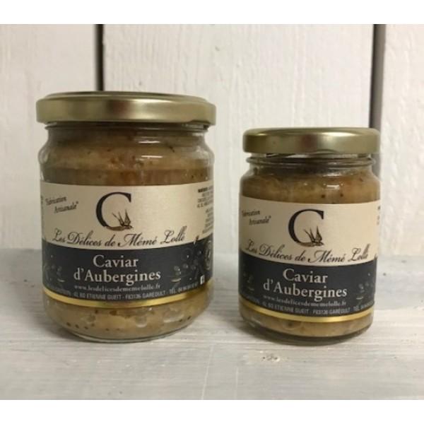 Caviar d'Aubergine pot de 170 g
