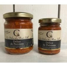 Délice de poivrons pot de 170 g